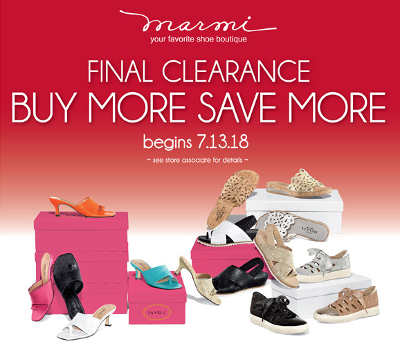 Buy More Save More at Marmi Shoes!