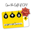 Promotional image for Holiday Gift Cards from California Pizza Kitchen