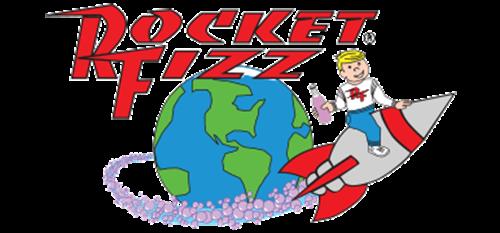 Rocket Fizz Soda Pop and Candy Shop Logo