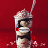 Promotional image for Peppermint Bark Ice Cream at Häagen-Dazs Is Back