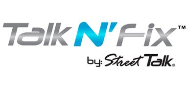 Talk N' Fix Logo