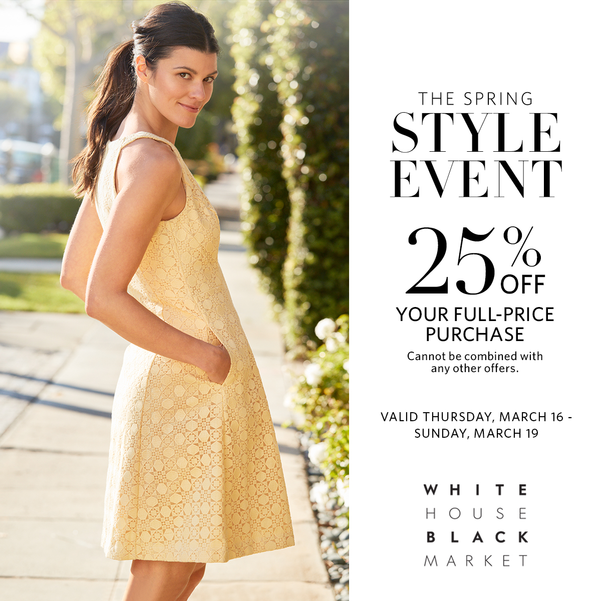 3ac39693e45 White House Black Market s Spring Style Event