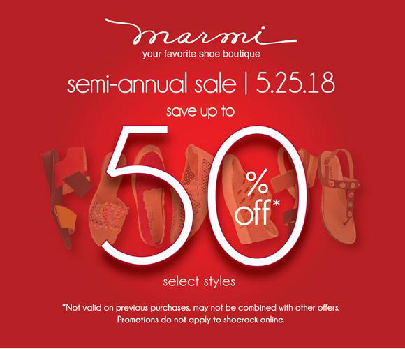 Semi Annual Sale At Marmi Shoes Why sacrifice fashion for fit when you can have both with marmi? semi annual sale at marmi shoes